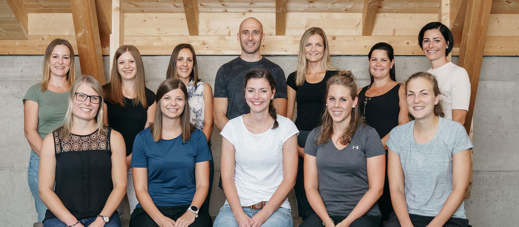 Das team des Therapiezentrum Radl